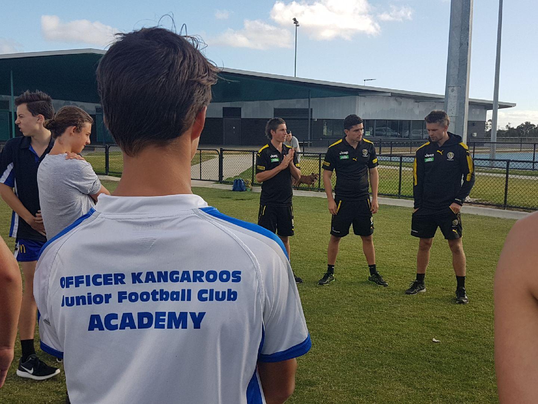 Richmond FC Visit 13 March 2018 – Officer Kangaroos Junior Football Club
